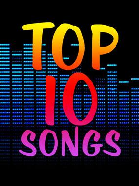 top 10 music hits september 2013
